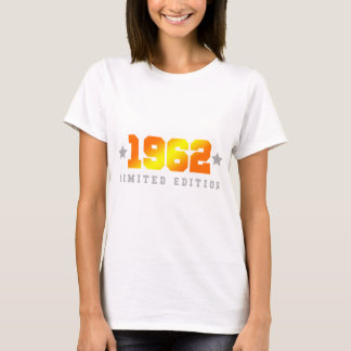 Limited Edition 1962 Birthday T-Shirt