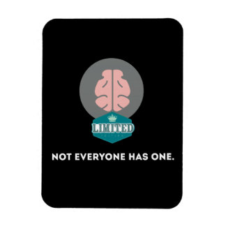 Limited Edition Brain Rectangular Photo Magnet