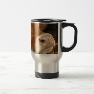 Limousin Cattle (Mad Cow) Travel Mug
