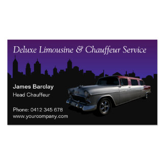 Limousine gifts t shirts art posters other gift for Limousine business cards template