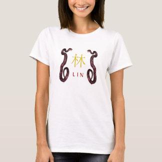 Lin Monogram Snake T-Shirt