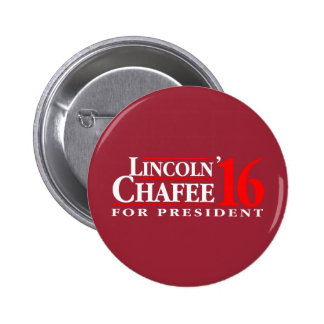 Lincoln Chafee For President 6 Cm Round Badge
