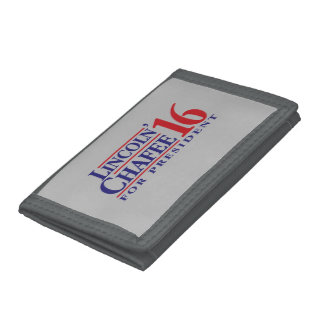Lincoln Chafee For President Tri-fold Wallet