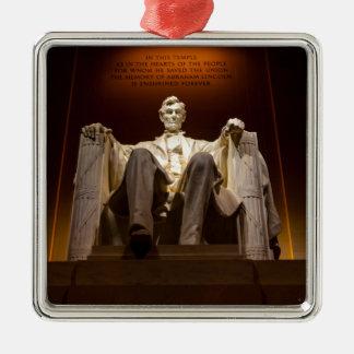 Lincoln Memorial At Night - Washington D.C. Christmas Ornament