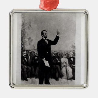 Lincoln's Address at Gettysburg, 1895 Christmas Ornament