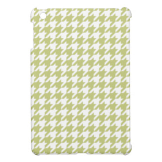Linden Green Houndstooth Case For The iPad Mini