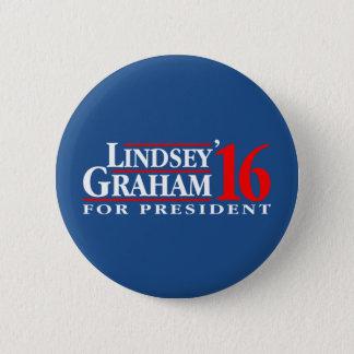 Lindsey Graham for President 6 Cm Round Badge