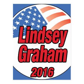 Lindsey Graham for president in 2016 Postcard