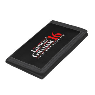 Lindsey Graham For President Trifold Wallet