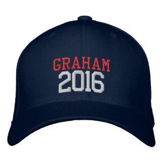 Lindsey Graham President 2016 Embroidered Hat