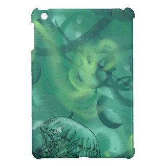 Line Art Jellyfish SeaGreen Case For The iPad Mini