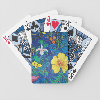 LineA Island Flora Bicycle Playing Cards