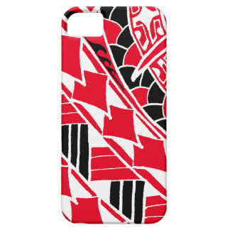 LineA Red Polynesian Tattoo iPhone 5 Covers