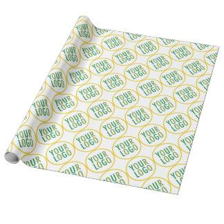 Linen Wrapping Paper Custom Logo Branded Bulk