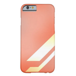 Lines and Colors Orange Barely There iPhone 6 Case