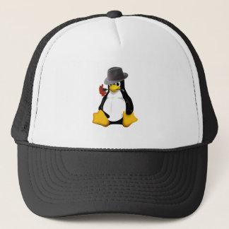 Linux tango trucker hat