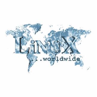 Linux Worldwide Standing Photo Sculpture