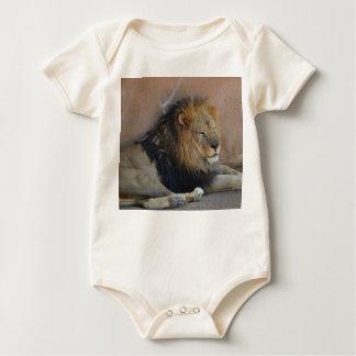 Lion Baby One-Piece Baby Bodysuit