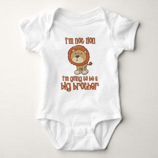 lion big brother baby bodysuit