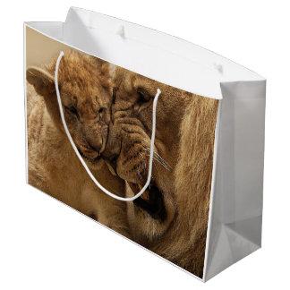 Lion Duo Gift Bag