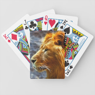 Lion fantasy playing cards