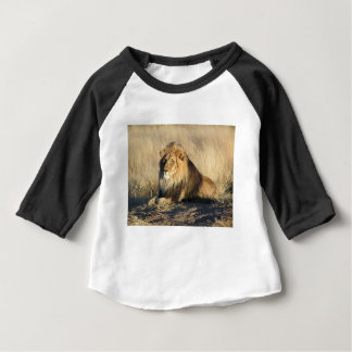 Lion lounging in Nambia Baby T-Shirt