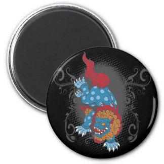 Lion of Buddha Fridge Magnets
