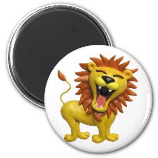 Lion Roaring Magnets