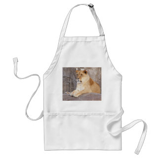 Lioness on the Rocks Standard Apron