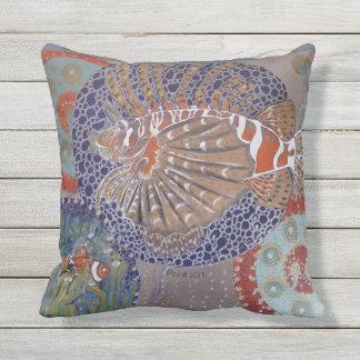 Lionfish Throw Pillow