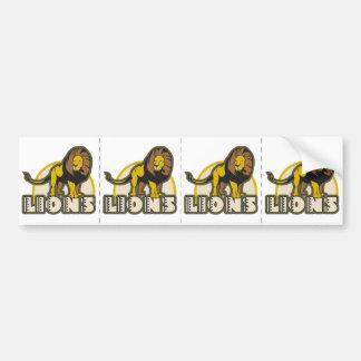 Lions Bumper Sticker