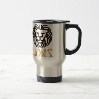 Lions Stainless Steel Travel Mug
