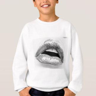 lips-mouth-open-bw2011-0002-Edit Sweatshirt