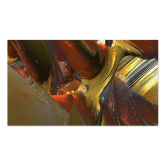 LIQUID ABSTRACT MANDELBULB 3D FRACTAL IMG PACK OF STANDARD BUSINESS CARDS