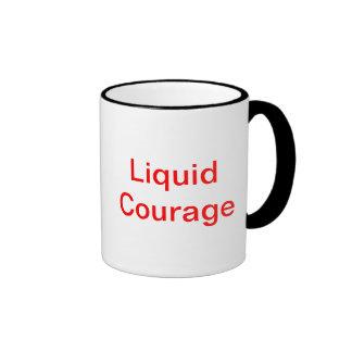 liquid courage ringer mug