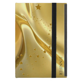 Liquid Gold iPad Mini Folio Case iPad Mini Cover