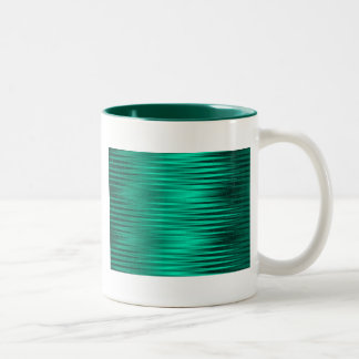 Liquid Metal Two-Tone Coffee Mug
