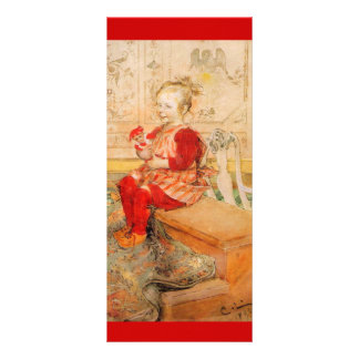 Lisbeth in a Red Jumper Customized Rack Card