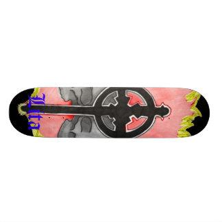 Lita Design (Skulls&Cross) Skateboard