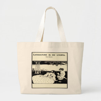 Literature is My Utopia Book Bag