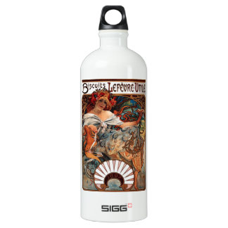 """Lithograph """"Biscuits Lefèvre-Utile"""" Water Bottle"""