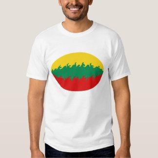 Lithuania Gnarly Flag T-Shirt