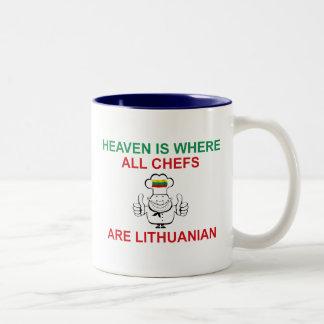 Lithuanian Chefs Two-Tone Coffee Mug
