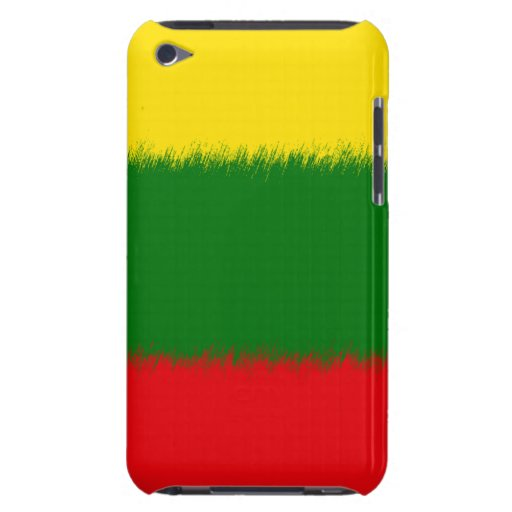 Lithuanian Flag iPod Case-Mate Cases