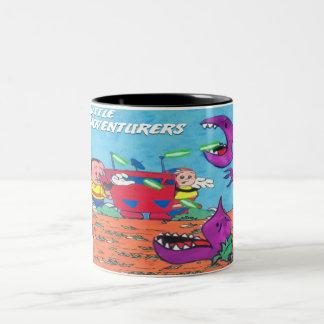 Little Adventurers 4 Two-Tone Coffee Mug