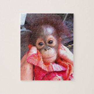Little Angel Baby Orangutan Jigsaw Puzzle