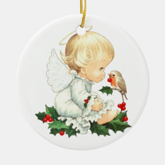 Little Angel Christmas Ornament