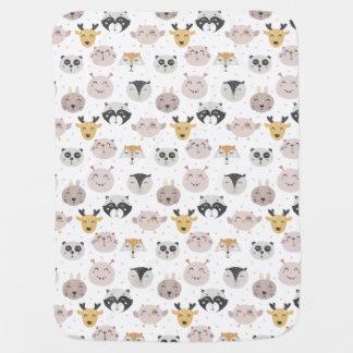 Little Animals Baby Blanket