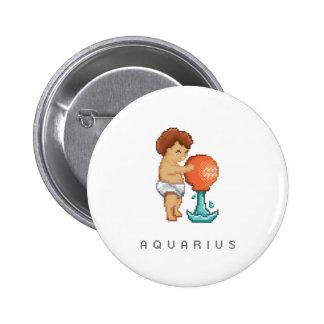 Little Aquarius Button