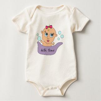 "Little Baby ""GUGA"" Bath Time Baby Bodysuit"
